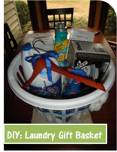 Weenie-Lovin Pirate: DIY Laundry Gift Basket