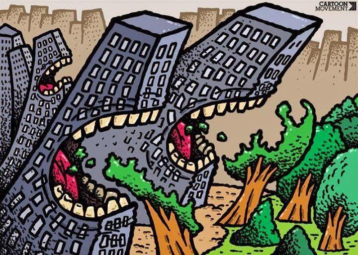 la ciudad se come a los árboles salamanca