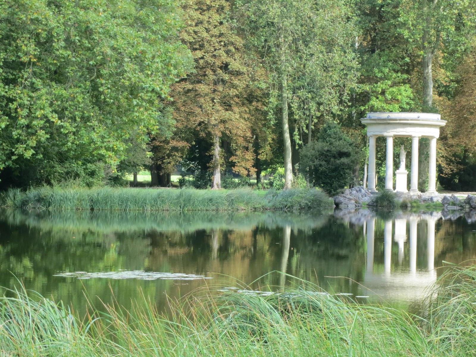 Le blog de parcs et jardins de l 39 oise le parc du chateau for Jardin de the