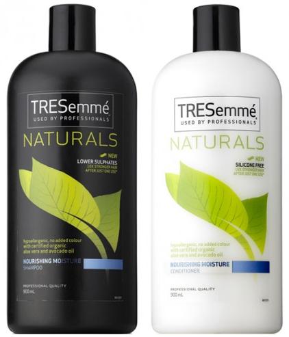 tresemme natural shampoo moisture 750ml