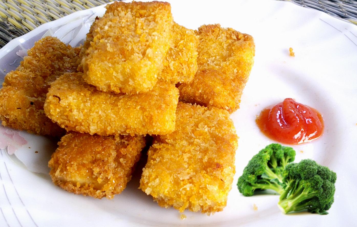 Resep Cara Membuat Nugget Ayam Keju Sehat Mudah