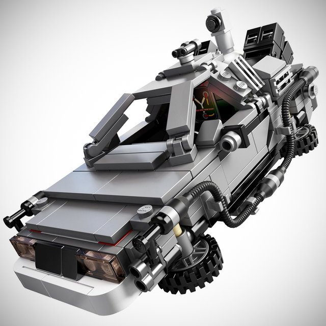 Oakley Radarlock Path >> Stormtrooper: DeLorean Time Machine Building Set by LEGO