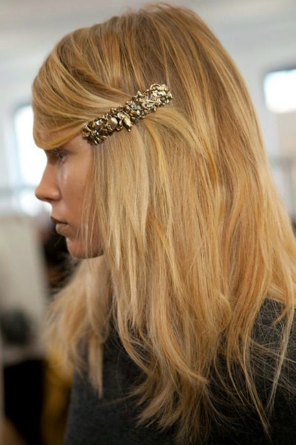 oversized barrette