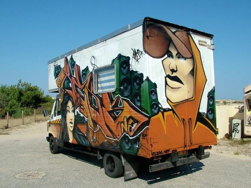Assez Le camping-car Passe partout: Camping-car : vintage, rétro  NY32