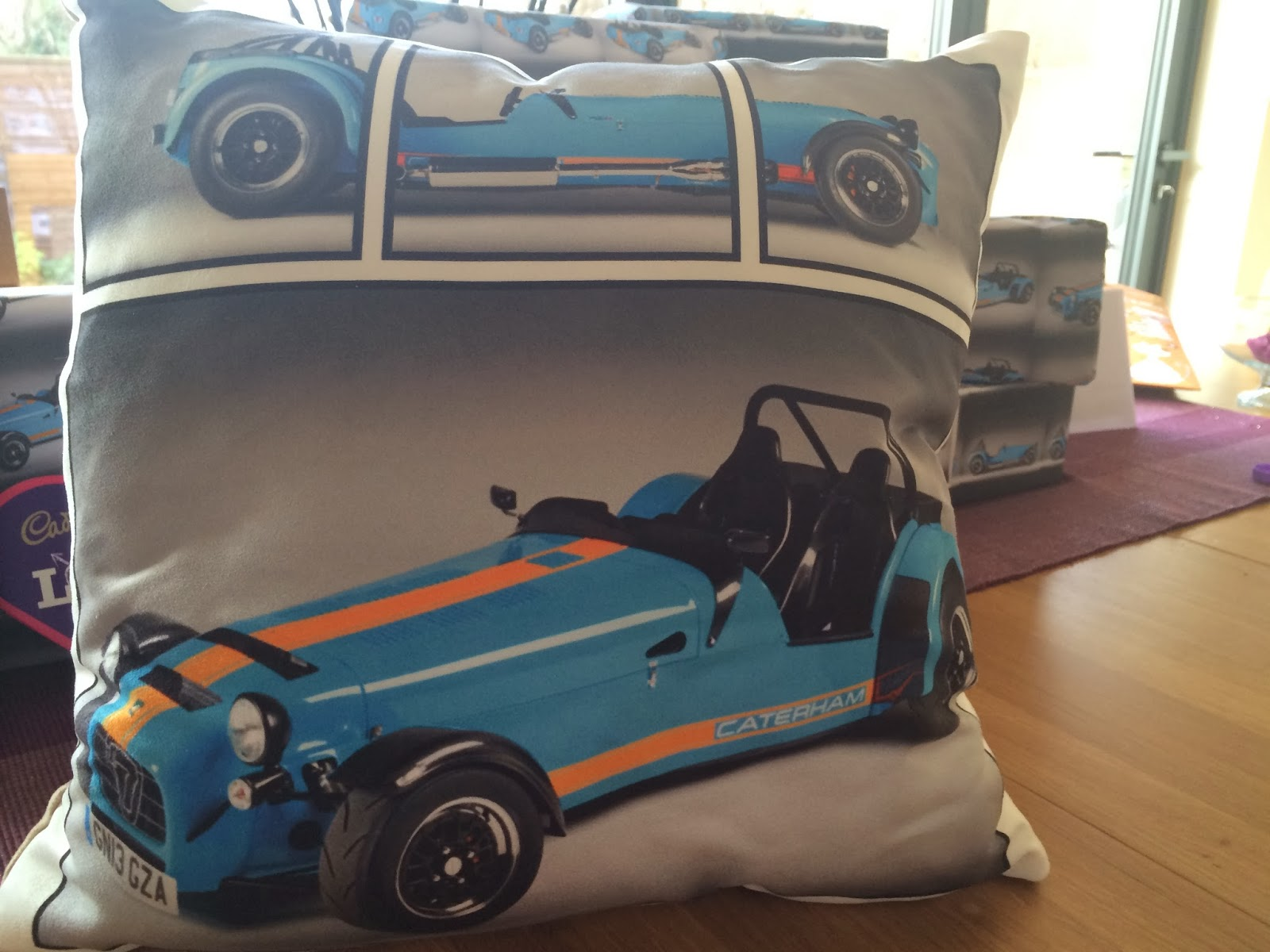 A Caterham cushion!