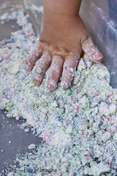 How to make sand foam dough