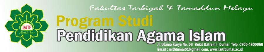 Prodi Pendidikan Agama Islam
