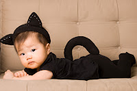 fantasia para bebê gato