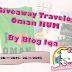 Giveaway Travelog Oman IIUM by Blog Iqa