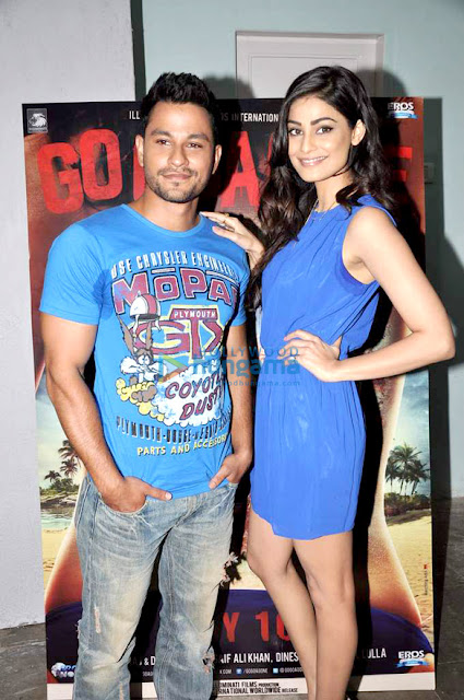 Kunal & Puja Gupta Promotes 'Go Goa Gone'