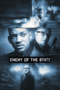 Poster Of Enemy of the State (1998) In Hindi English Dual Audio 300MB Compressed Small Size Pc Movie Free Download Only At World4ufree.Org