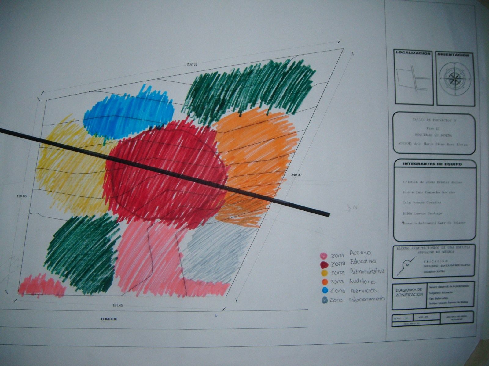 Proceso de dise o de un centro educativo escuela for Zonificacion arquitectonica