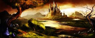 Trine Awesome Castle Landscape Game Art Wallpaper