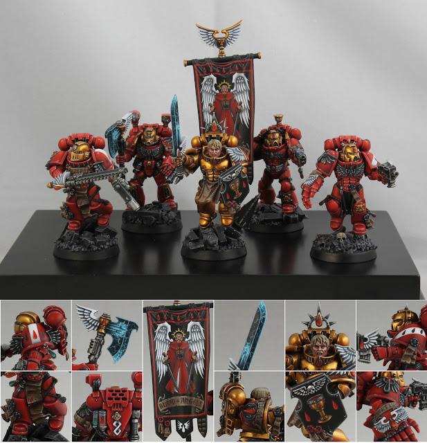 Games Day: Golden Demon de oro en mejor escuadra de Warhammer 40000