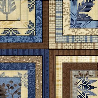 Moda NATURE'S BASKET Quilt Fabric by Blackbird Designs