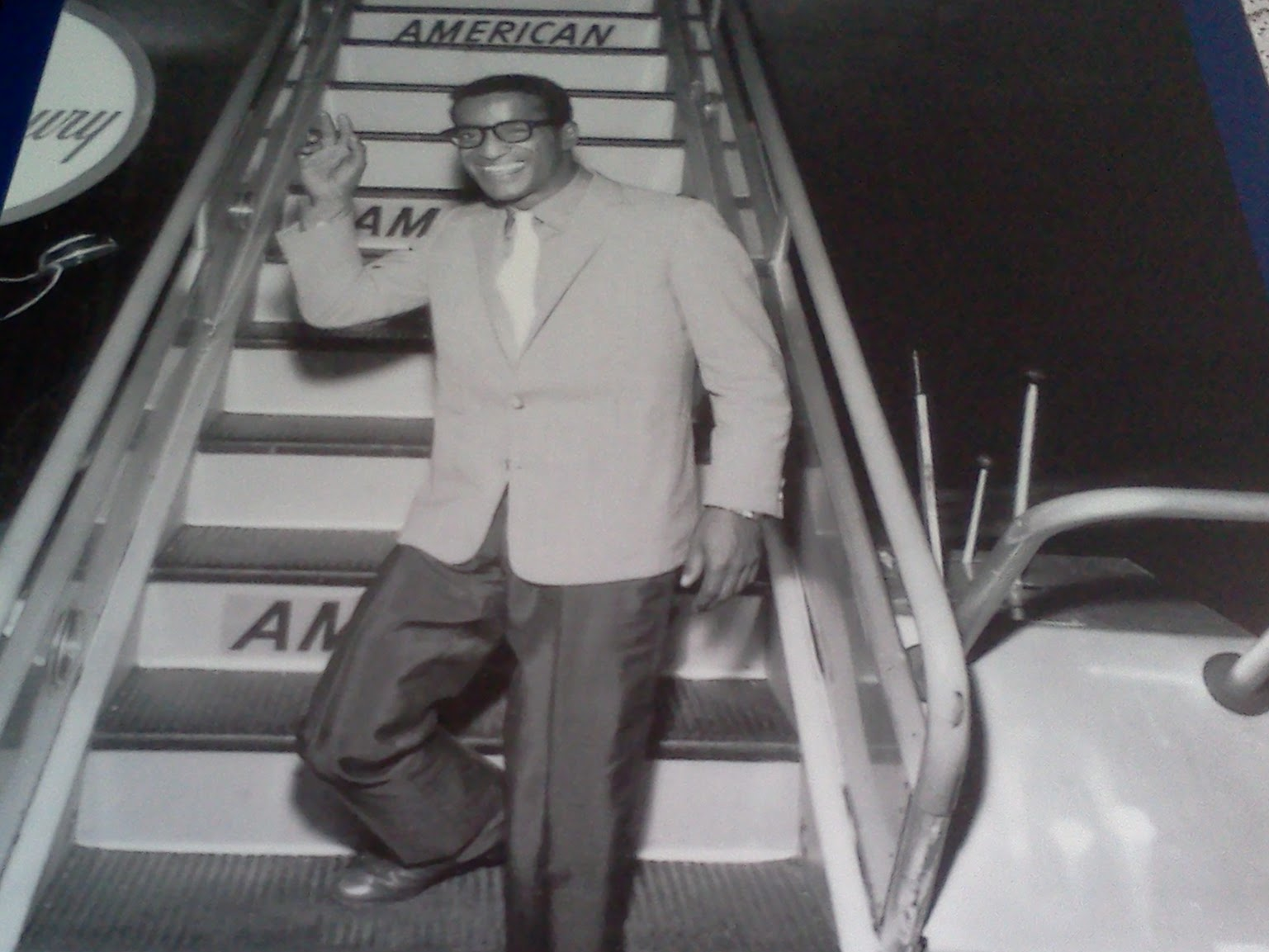 Sammy Davis Jr. flew on American Airlines C.R. Smith Museum