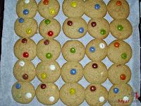 Cookies de lacasitos-cookies hechas