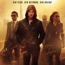 Las 10 películas mas descargadas durante 2012 - Mision imposible Protocolo Fantasma