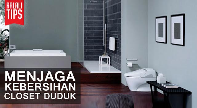 Bagaimana Cara Menjaga Kebersihan toilet ?