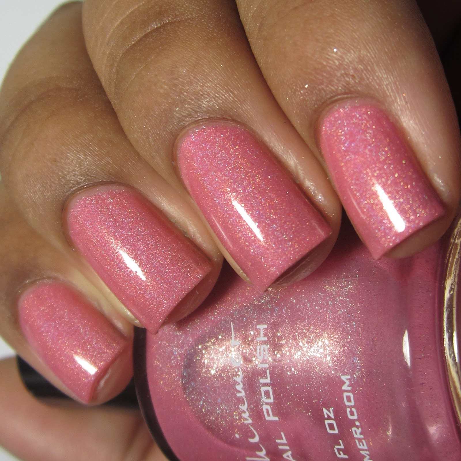 KBShimmer Blush Money Spring 2015 pink holo