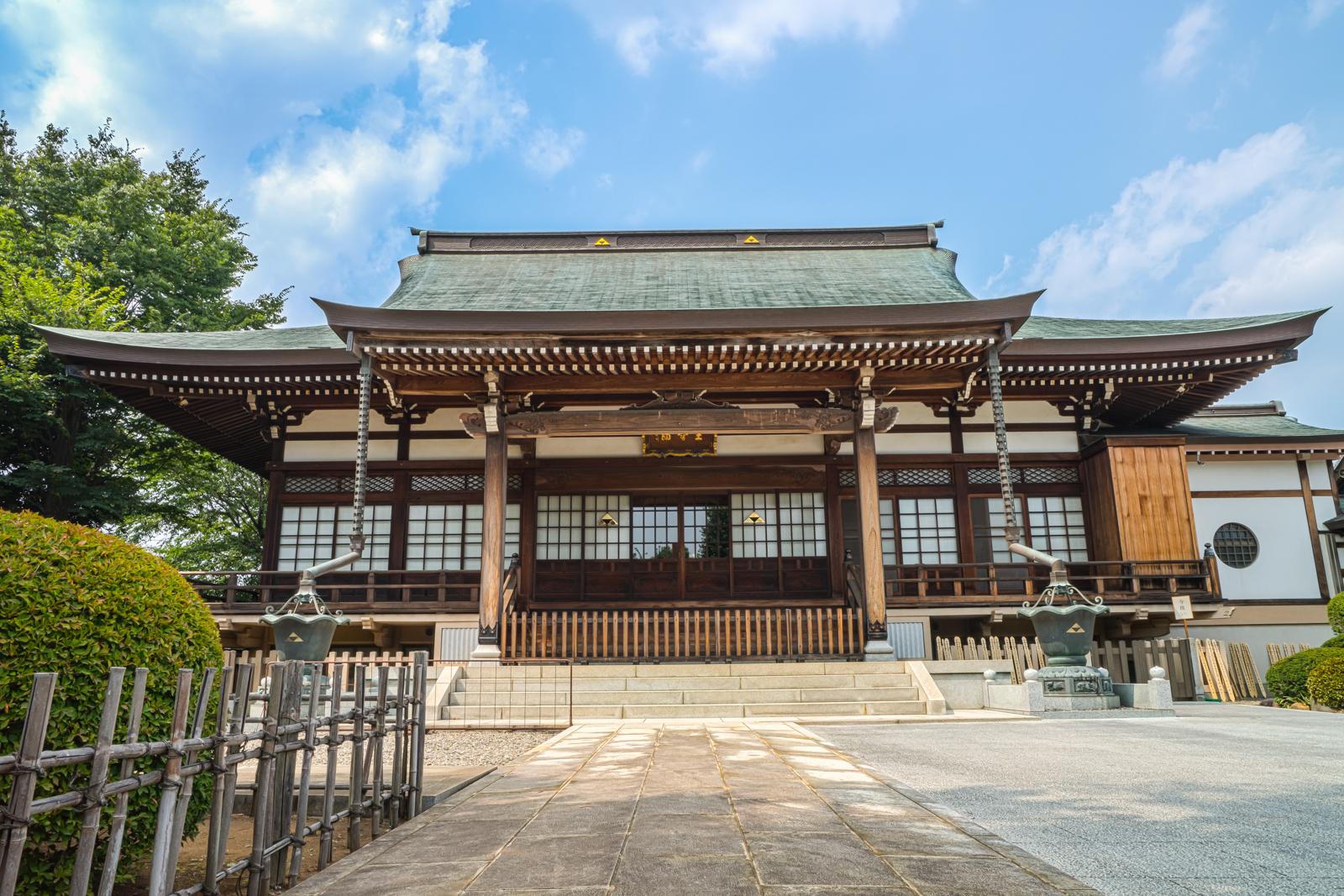 正福寺本堂の写真