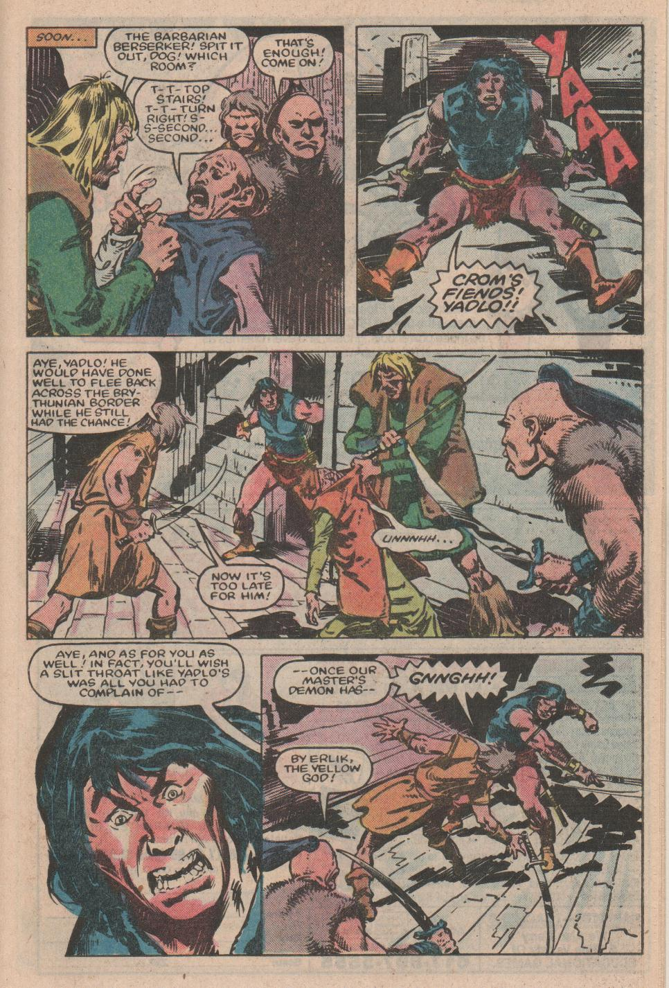 Conan the Barbarian (1970) Issue #155 #167 - English 16