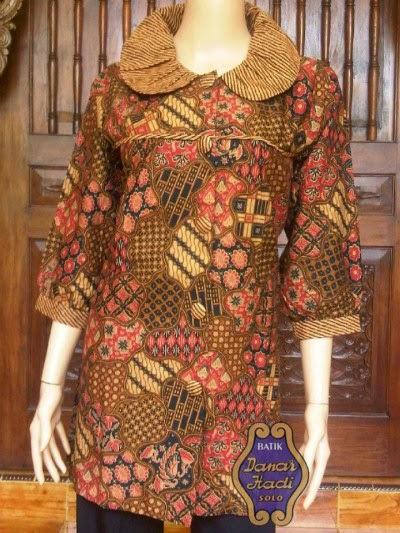 Kumpulan Baju Gamis Batik Danar Hadi