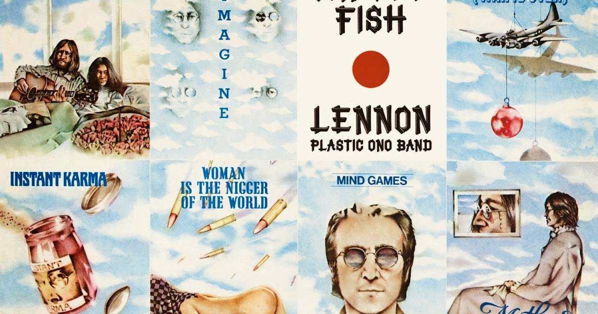 The daily beatle shaved fish for vinyl re release for John lennon shaved fish