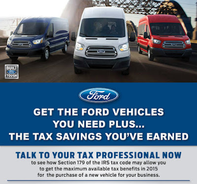 Year End Tax Savings Specials from Gresham Ford