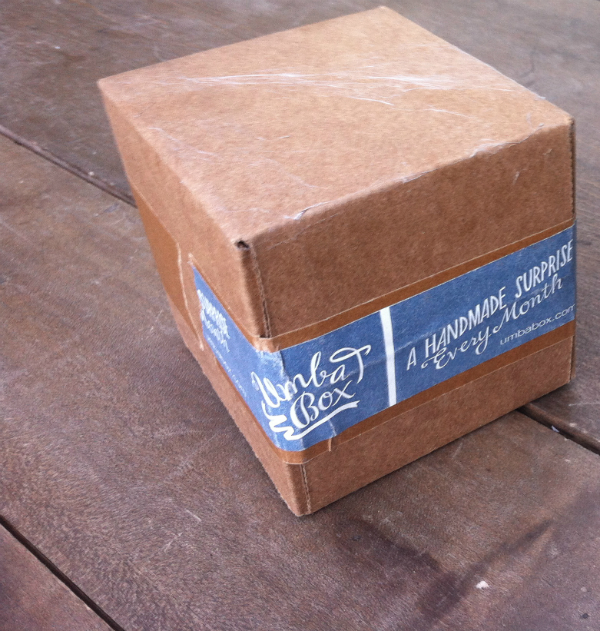 Umba Box - September 2012 Review - Monthly Indie and Craft Subscription Box