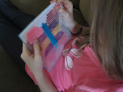 Ideas for Handwork to keep little hands busy during Read Aloud Time-The Unlikely Homeschool