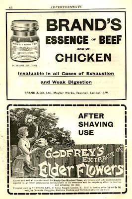 Adverts from 1912