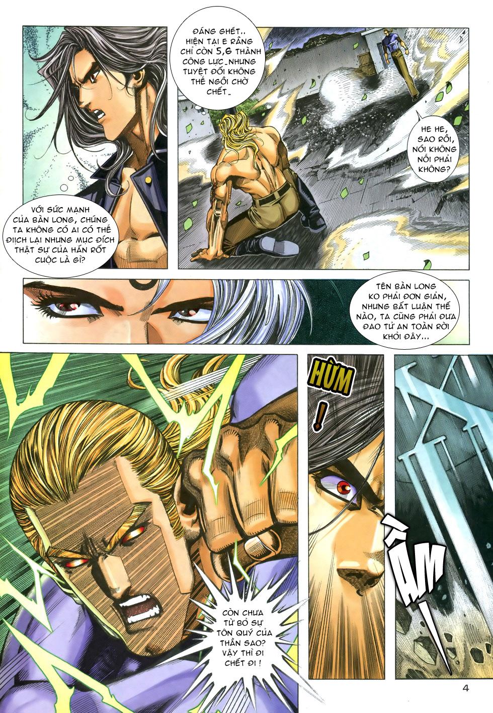 X Bạo Tộc chap 33 - Trang 4