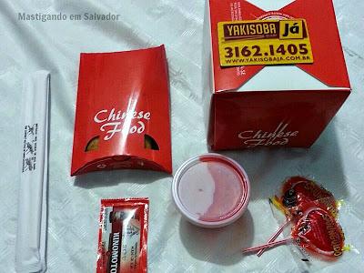 Yakisoba Já: Embalagens dos produtos