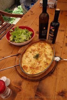 Картофельный гратен с горчицей