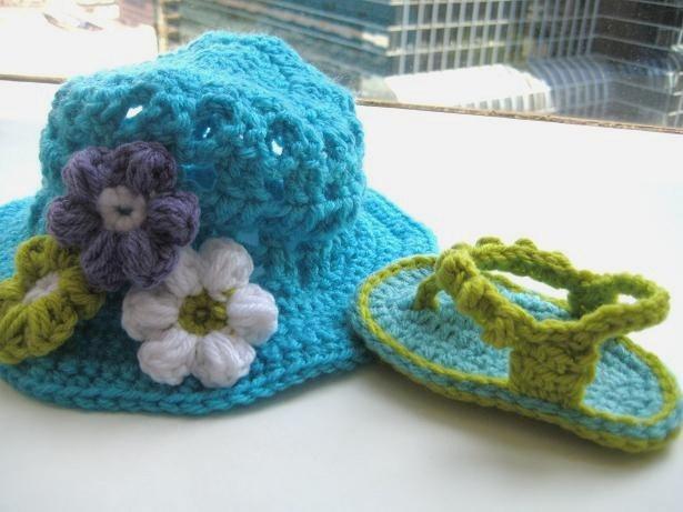 For the Love of Crochet Along: Crochet Baby Flip Flops, a ...