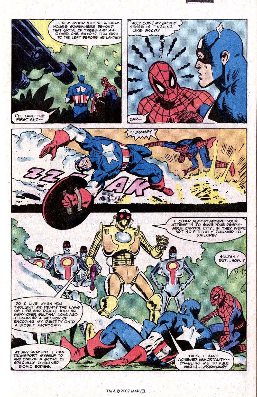 Captain America (1968) Issue #266 #181 - English 21