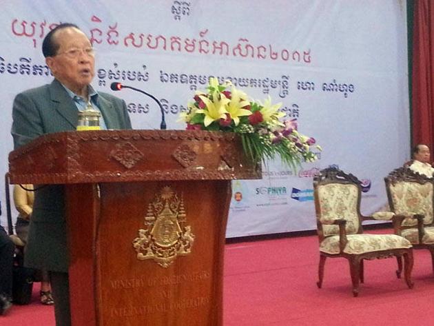Le vice-Premier ministre Hor Namhong