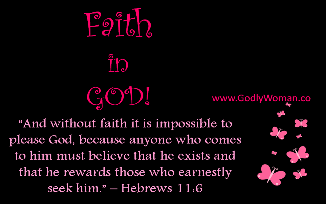 Essay on faith in god