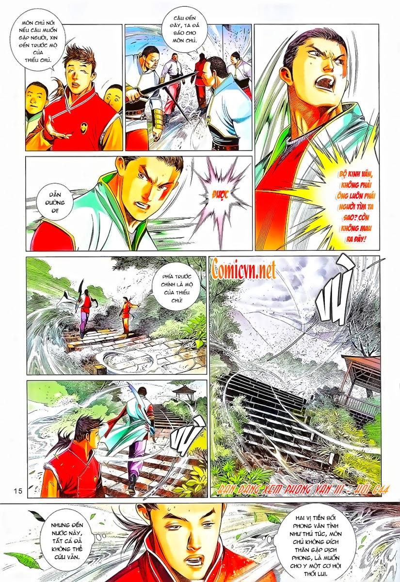 Phong Vân chap 644 Trang 16 - Mangak.info