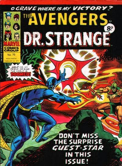 Marvel UK, Avengers #75, Dr Strange