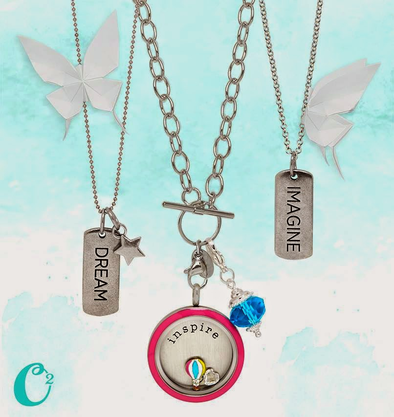 create an origami owl necklace that inspires you origami