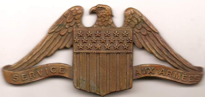American Field Service Hat Badge
