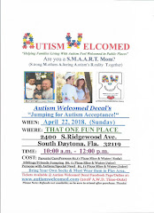 Autism Welcomed Decal ( April 22 )