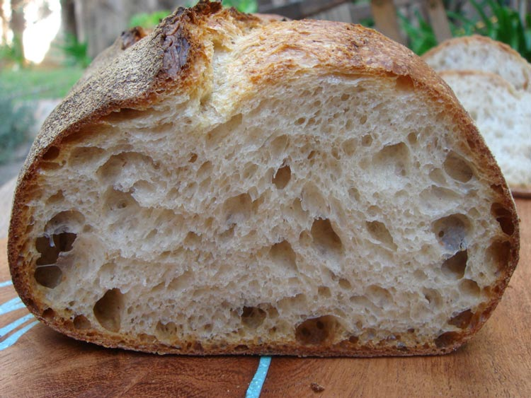 Simple White Sourdough Loaf Recipe — Dishmaps