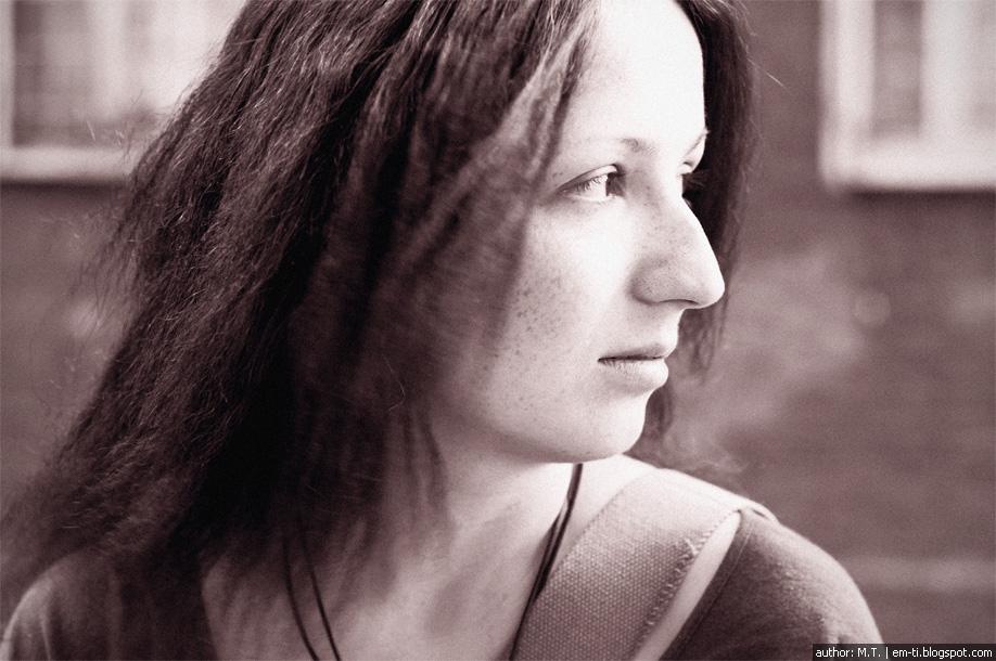 Красивая девушка Рута. Чёрно-белые фото. Beautiful girl Ruta. Black-and-white photos.