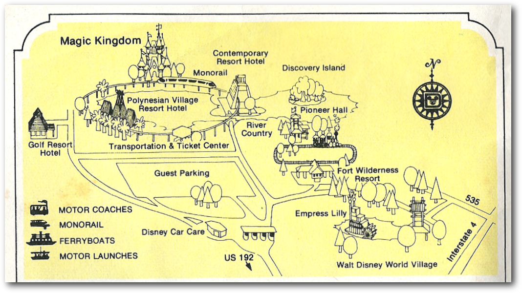 walt disney world map 2011. Your Guide to Walt Disney