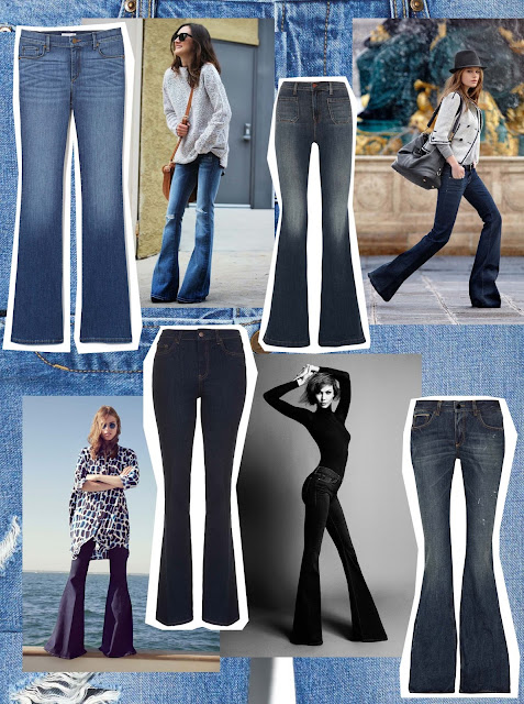 Get the look Flared jeans