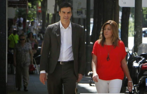 Pedro Sanchez y Susana Diez. Tanto Monta. Monta Tanto.