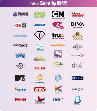 Perbandingan Tiap Provider TV Berlangganan